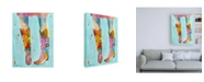 "Trademark Global Pamela K. Bee Cowgirl Boots Canvas Art - 27"" x 33.5"""