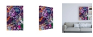 "Trademark Global Justin Copelan Black is Love Canvas Art - 27"" x 33.5"""