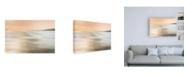 "Trademark Global Lynne Dougla By the Waters Edge Canvas Art - 19.5"" x 26"""