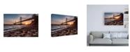 "Trademark Global Bruce Gett Sunset from the Island 2 Canvas Art - 27"" x 33.5"""