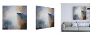 """Trademark Global Karen Hal First Light Paint Canvas Art - 15.5"""" x 21"""""""