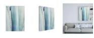 "Trademark Global Lupen Grainn Pale Blue Agave No. 3 Canvas Art - 27"" x 33.5"""