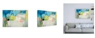 "Trademark Global Ira Ivanov Green Summer Canvas Art - 15.5"" x 21"""