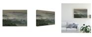 "Trademark Global Karsten Wrobel Temple in the Mist Canvas Art - 15"" x 20"""