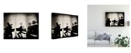 "Trademark Global Mirela Momanu Waves of Music Canvas Art - 20"" x 25"""
