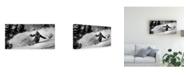 """Trademark Global Eric Verbiest First Tracks Canvas Art - 20"""" x 25"""""""
