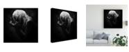 "Trademark Global Nobuhiro Ishida Match Fire in the Dark Canvas Art - 20"" x 25"""