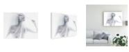 "Trademark Global Nobuhiro Ishida Transparent Covered Portrait Canvas Art - 20"" x 25"""