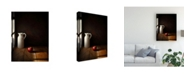 "Trademark Global Luiz Laercio An Apple Canvas Art - 20"" x 25"""