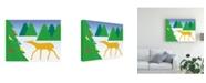 "Trademark Global Marie Sansone Bird Ornaments Canvas Art - 20"" x 25"""