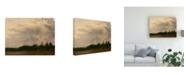 """Trademark Global Michael Budden Evenings Approach Canvas Art - 20"""" x 25"""""""