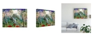 "Trademark Global Michelle Mccullough Fairy Forest Canvas Art - 37"" x 49"""