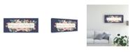 "Trademark Global Jenaya Jackson Blooming Delight IX Blue Canvas Art - 15"" x 20"""