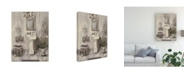 """Trademark Global Marilyn Hageman French Bath III Gray Canvas Art - 20"""" x 25"""""""