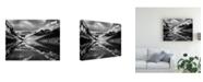 "Trademark Global Monte Nagler Lake Louise Reflections Canadian Rockies Canvas Art - 15"" x 20"""