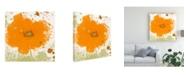 "Trademark Global Irena Orlov Modern Orange Canvas Art - 20"" x 25"""