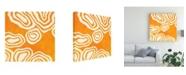 "Trademark Global June Erica Vess Bright Mineral IV Canvas Art - 15"" x 20"""
