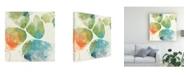 "Trademark Global June Erica Vess Color Motion I Canvas Art - 15"" x 20"""