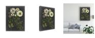 """Trademark Global Naomi Mccavitt Bookplate Floral II Canvas Art - 15"""" x 20"""""""