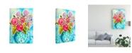 "Trademark Global Julia Minasian Bright Arrangement III Canvas Art - 20"" x 25"""