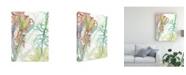 "Trademark Global Naomi Mccavitt Woven Sea Plants II Canvas Art - 37"" x 49"""