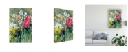 """Trademark Global Pam Ilosky Spring at Giverny III Canvas Art - 20"""" x 25"""""""