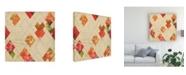 "Trademark Global Irena Orlov Geometric Color Shape II Canvas Art - 15.5"" x 21"""
