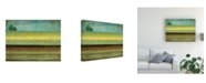"Trademark Global Pablo Esteban Singled Trees Painted 1 Canvas Art - 27"" x 33.5"""