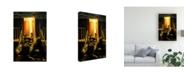 """Trademark Global Paul Walsh Devils Stairway Canvas Art - 19.5"""" x 26"""""""
