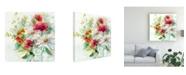 "Trademark Global Elizabeth Franklin Garden Jar II Canvas Art - 15.5"" x 21"""
