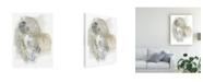 "Trademark Global June Erica Vess Turbulent I Canvas Art - 27"" x 33.5"""