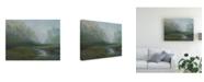"Trademark Global Sheila Finch Early Morning Fog Canvas Art - 27"" x 33.5"""