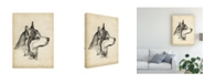 "Trademark Global Ethan Harper Breed Studies X Canvas Art - 15.5"" x 21"""