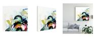 "Trademark Global Victoria Borges Collider I Canvas Art - 19.5"" x 26"""