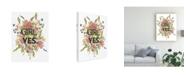 """Trademark Global Jennifer Goldberger Floral Canvas Art - 27"""" x 33.5"""""""