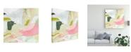 """Trademark Global Victoria Borges Closeup II Canvas Art - 19.5"""" x 26"""""""