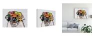 """Trademark Global Michel Keck Golden Retriever I Canvas Art - 15.5"""" x 21"""""""