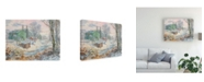 """Trademark Global Peter Snyder Spring House Canvas Art - 27"""" x 33.5"""""""