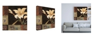 """Trademark Global Judi Bagnato Magnolia Breeze I Canvas Art - 19.5"""" x 26"""""""