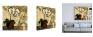 "Trademark Global Judi Bagnato Orchid Textures II Canvas Art - 15.5"" x 21"""