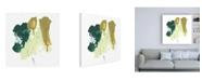 "Trademark Global June Erica Vess Midori II Canvas Art - 19.5"" x 26"""