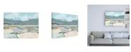 "Trademark Global June Erica Vess Mountain Valley Vista I Canvas Art - 27"" x 33.5"""
