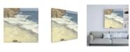 "Trademark Global Melissa Wang Oceanside II Canvas Art - 15.5"" x 21"""