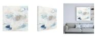 "Trademark Global June Erica Vess Pebble Coast IV Canvas Art - 19.5"" x 26"""