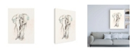 "Trademark Global Jennifer Goldberger Pastel Safari I Canvas Art - 27"" x 33.5"""