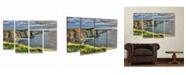"Trademark Global Pierre Leclerc Cliffs of Moher Ireland Multi Panel Art Set 6 Piece - 49"" x 19"""