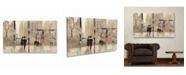 """Trademark Global Julia Purinton An Evening Out Neutral Multi Panel Art Set 6 Piece - 49"""" x 19"""""""