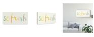 "Trademark Global June Erica Vess Fresh and Clean I Canvas Art - 15"" x 20"""