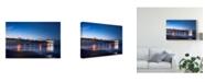 "Trademark Global Danny Head Pier Reflections I Canvas Art - 37"" x 49"""