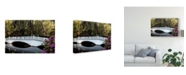 "Trademark Global Danny Head White Bridge Reflections Canvas Art - 20"" x 25"""